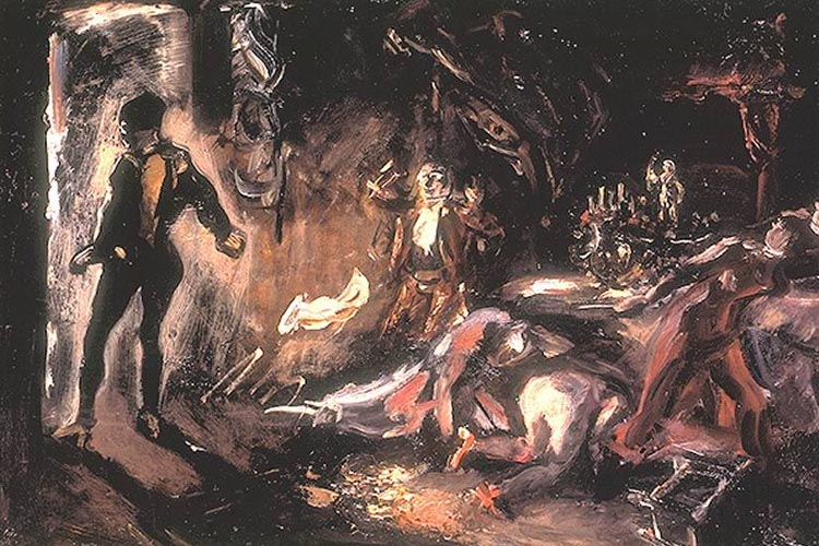 Max Slevogt, Scenes from Don Giovanni