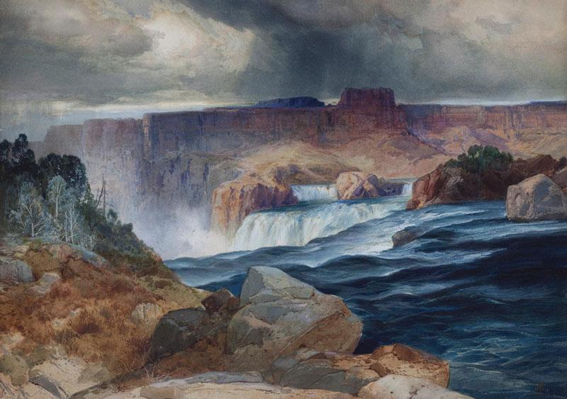 Thomas Moran, Shoshone Falls on the Snake River,1900