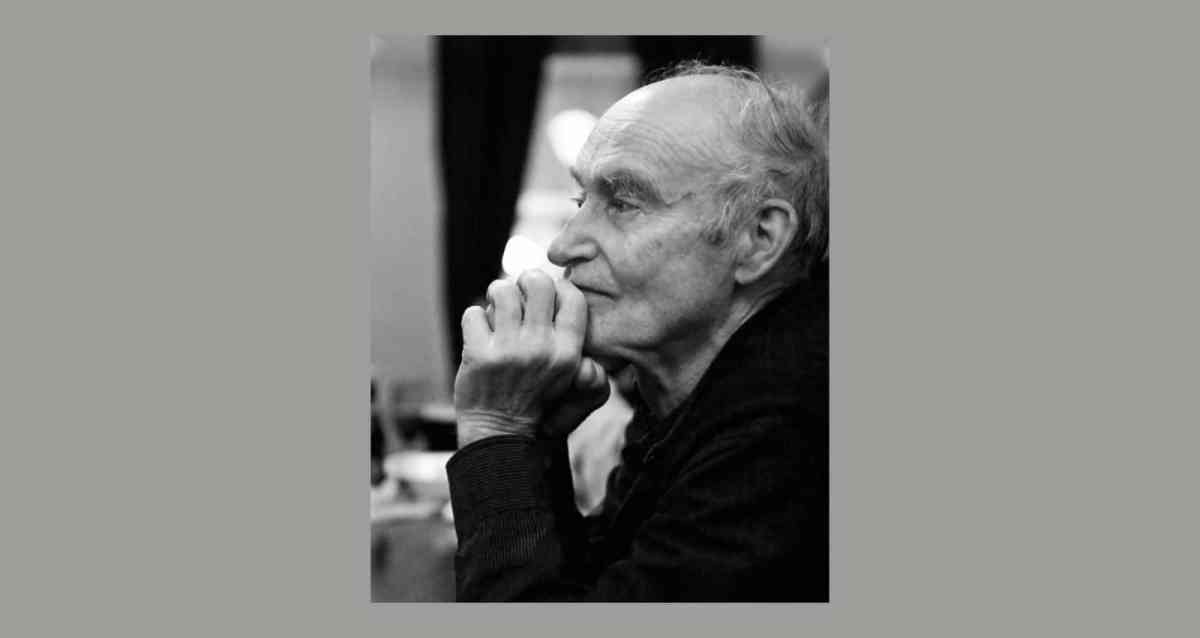 Composer Christian Wolff