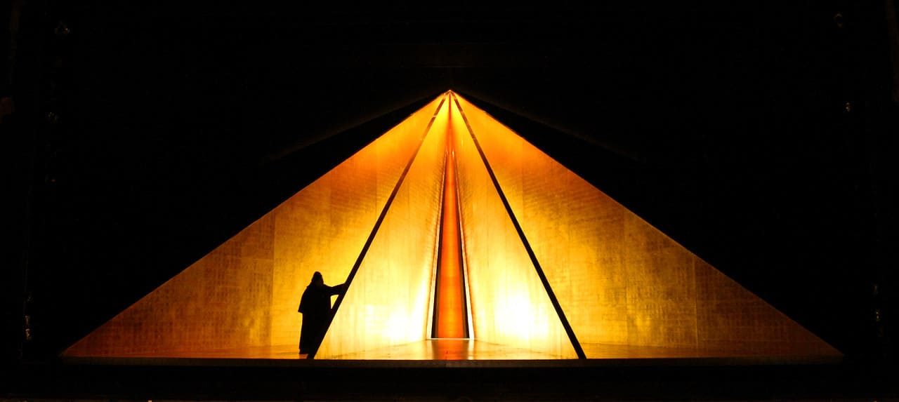 "The Pyramid in ""Tristan."" ·PhotoCatherine Ashmore"