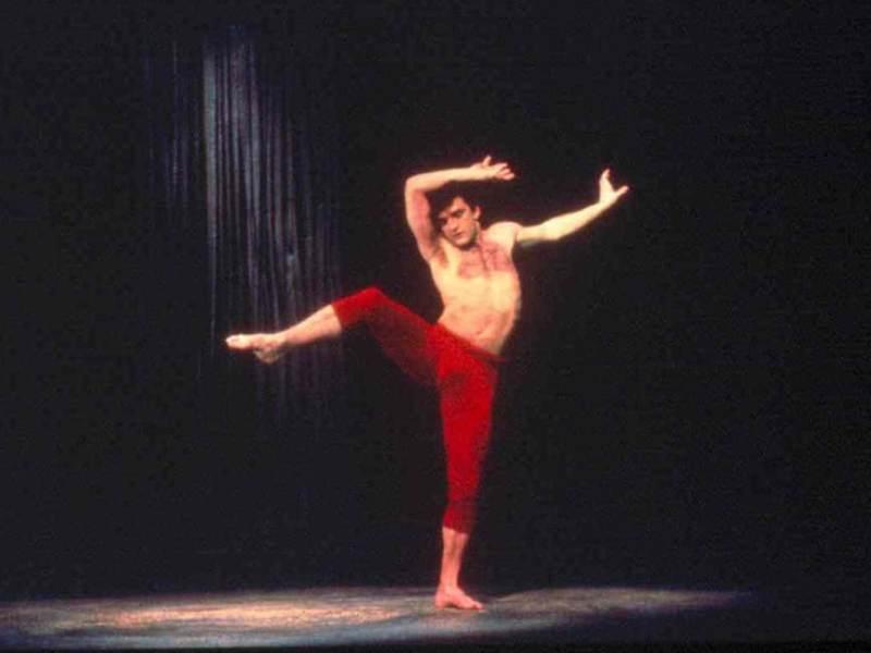 Dancer and choreographer Mark Morris