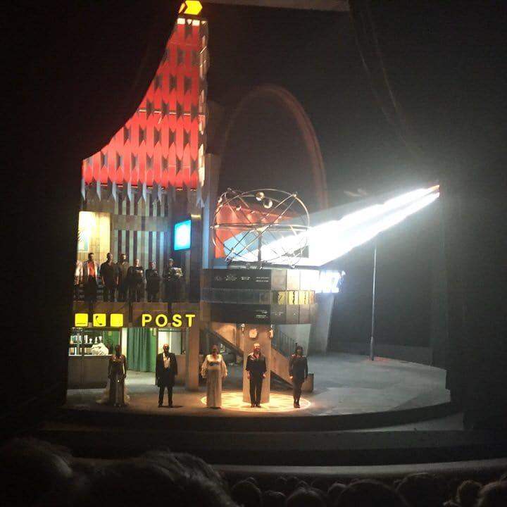Berlin's Alexanderplatz, on the Bayreuth stage.