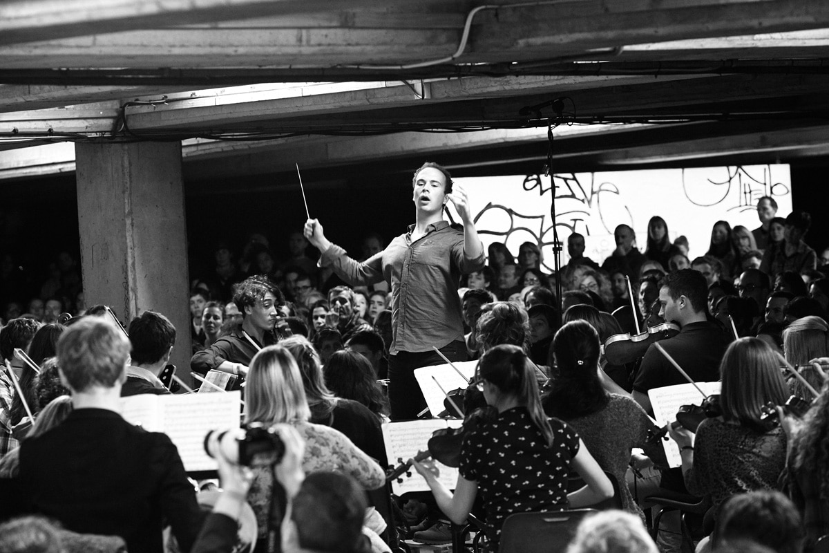 Conductor Christopher Stark.