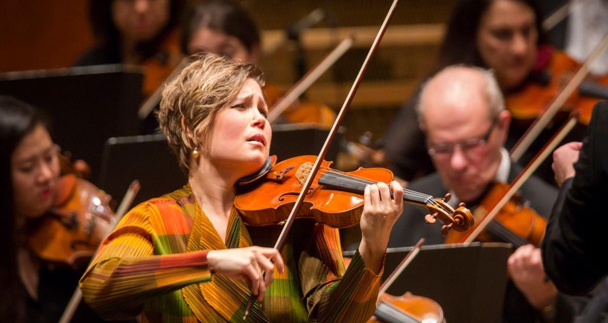 Leila Josefowicz (Photo: Chris Lee)