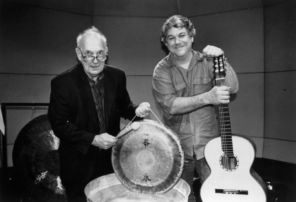 With David Starobin Photo Courtesy of the Manhattan School of Music