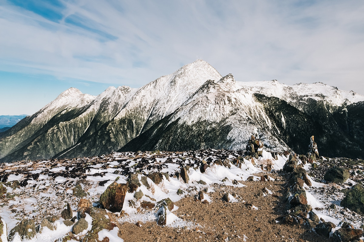 View looking from Mount Eisenhower towards Mount Monroe, Washington, and Jefferson • PhotoBrendan T Lynch(CC BY-NC-ND 2.0)