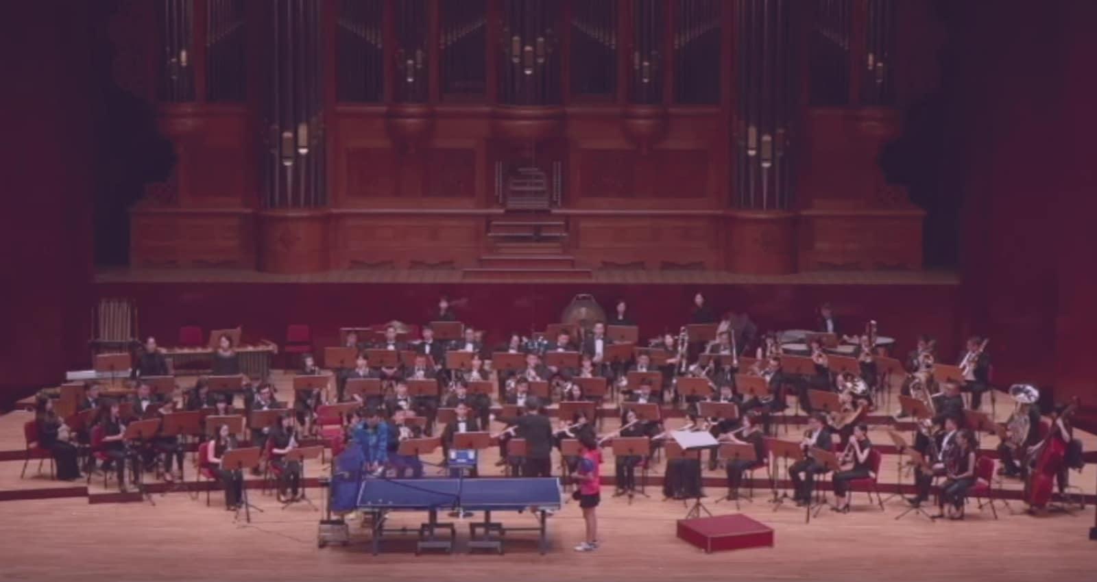 Screenshot taken fromYIU KWONG CHUNG: Ping-pong Concerto