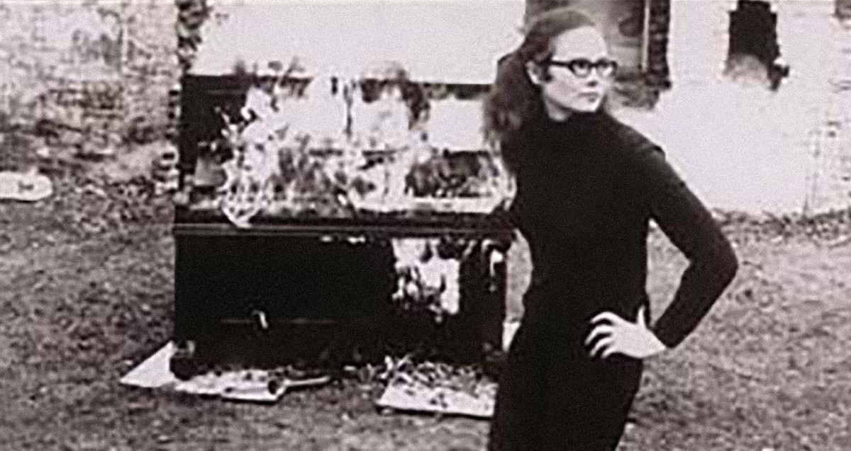 Annea Lockwood (Photo courtesty of the artist, 1968)