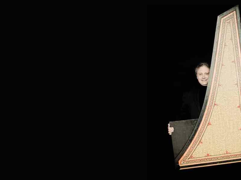 Harpsichordist Richard Egarr