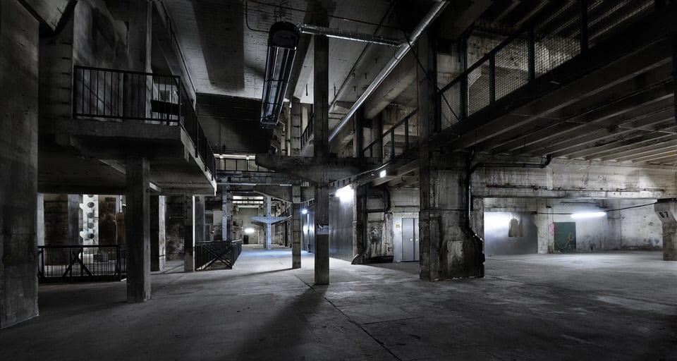 Kraftwerk Berlin, Ebene 0