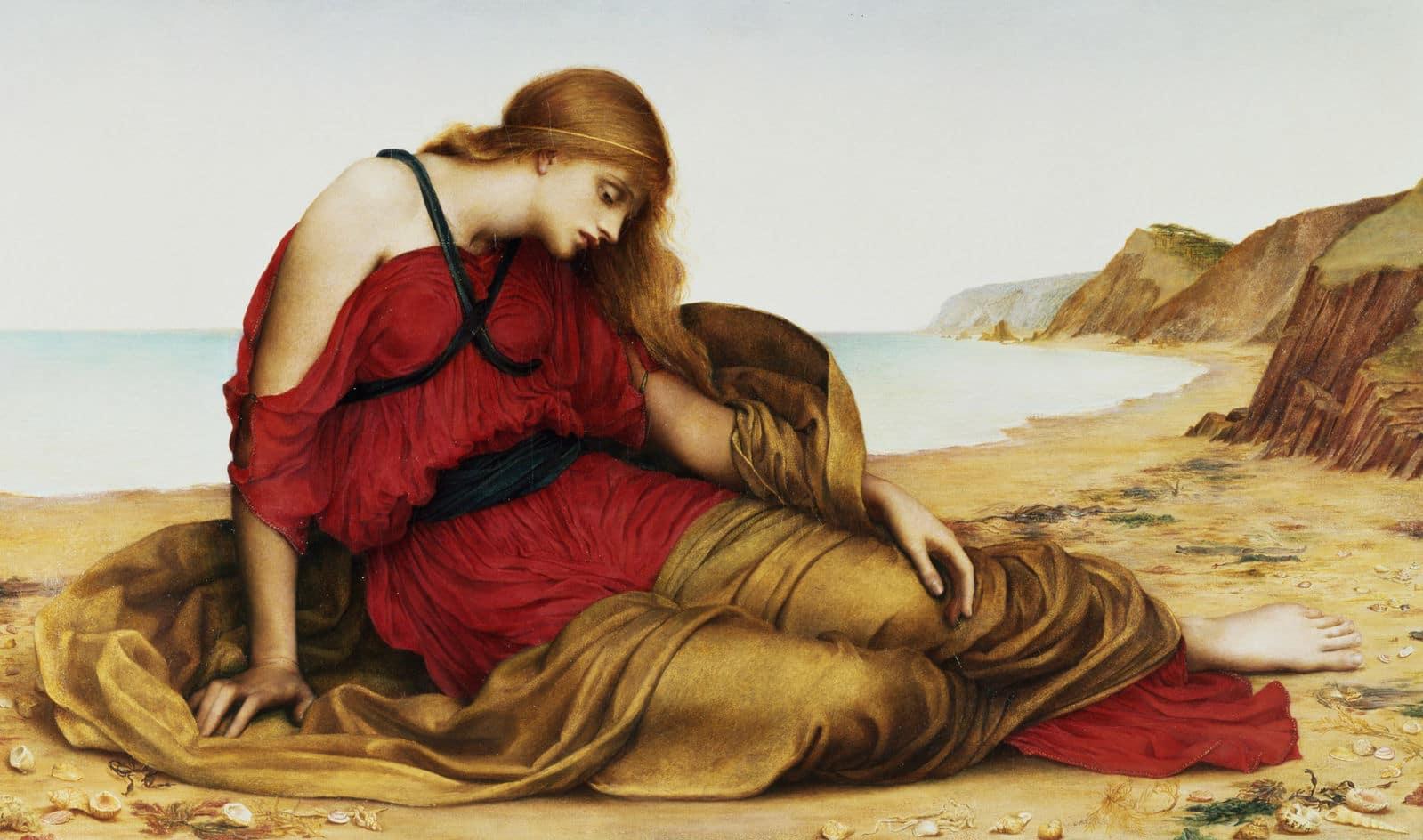 Ariadne in Naxos byEvelyn De Morgan