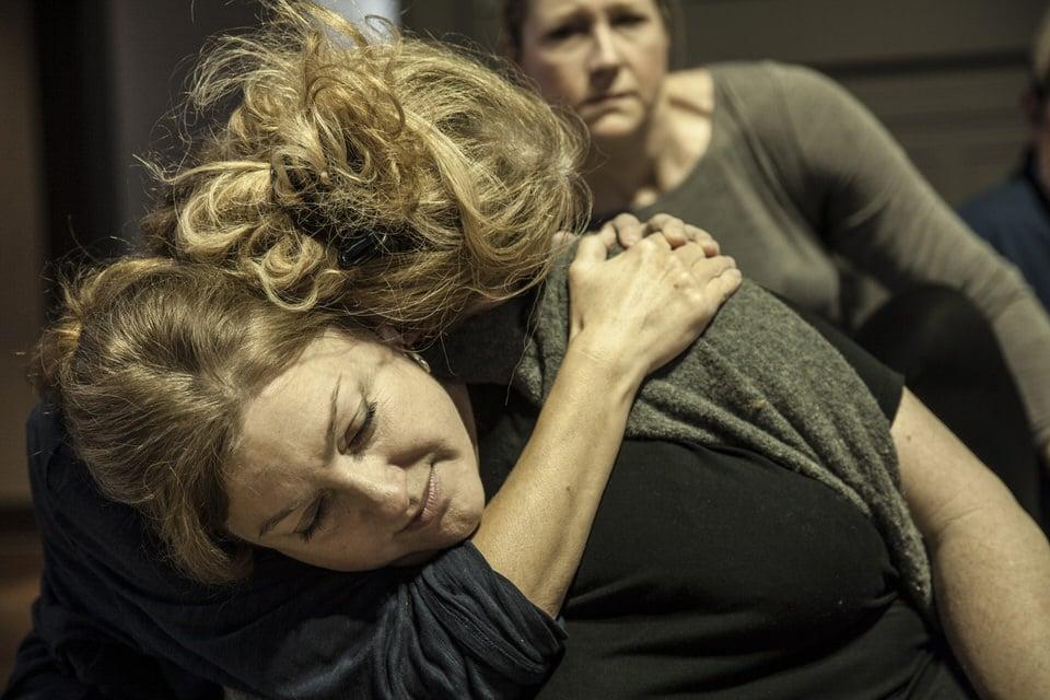 Michaela Martens and Nancy Allen Lundy in rehearsal •PhotoTobin del Cuore