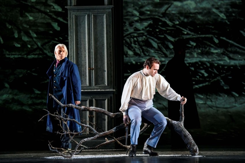 Eugene Onegin with Michael Fabiano as Lensky (Royal Opera House, 2015) • Photo Bill Cooper