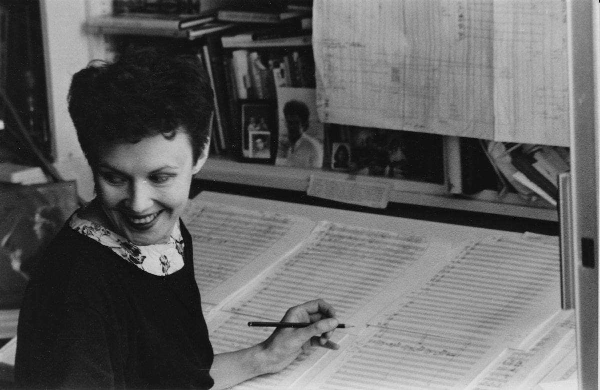 Composing Verblendungen, 1982 • Photo © Kaija Saariaho