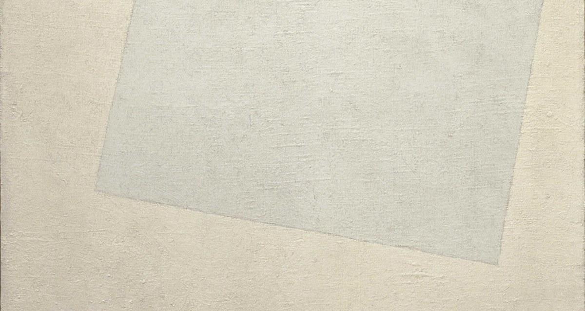 Kazimir Malevich, White on White (1918)