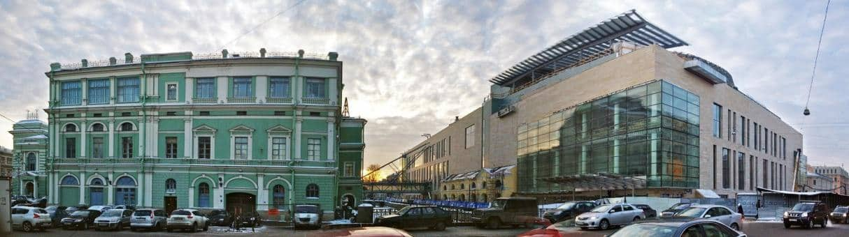 """""""How can there be so much money for such a monstrosity?"""" The Mariinsky I and II in St. Petersburg. • Photo© FLAMP.RU"""