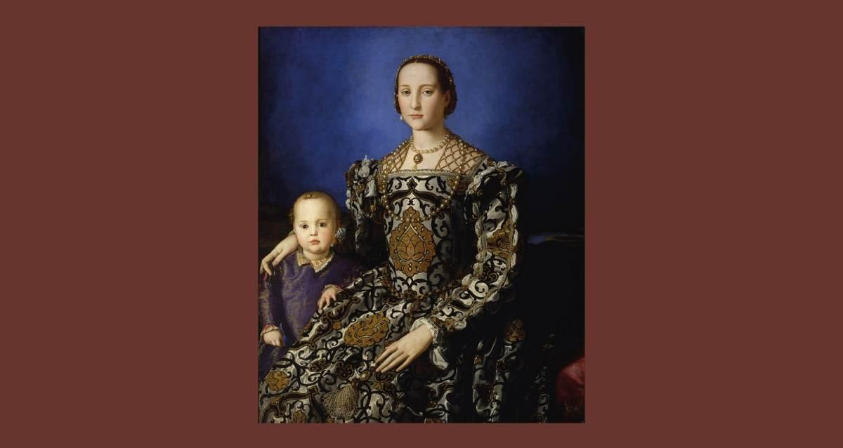 Eleanor of Toledo and her son Giovanni, Agnolo Bronzino (1545)