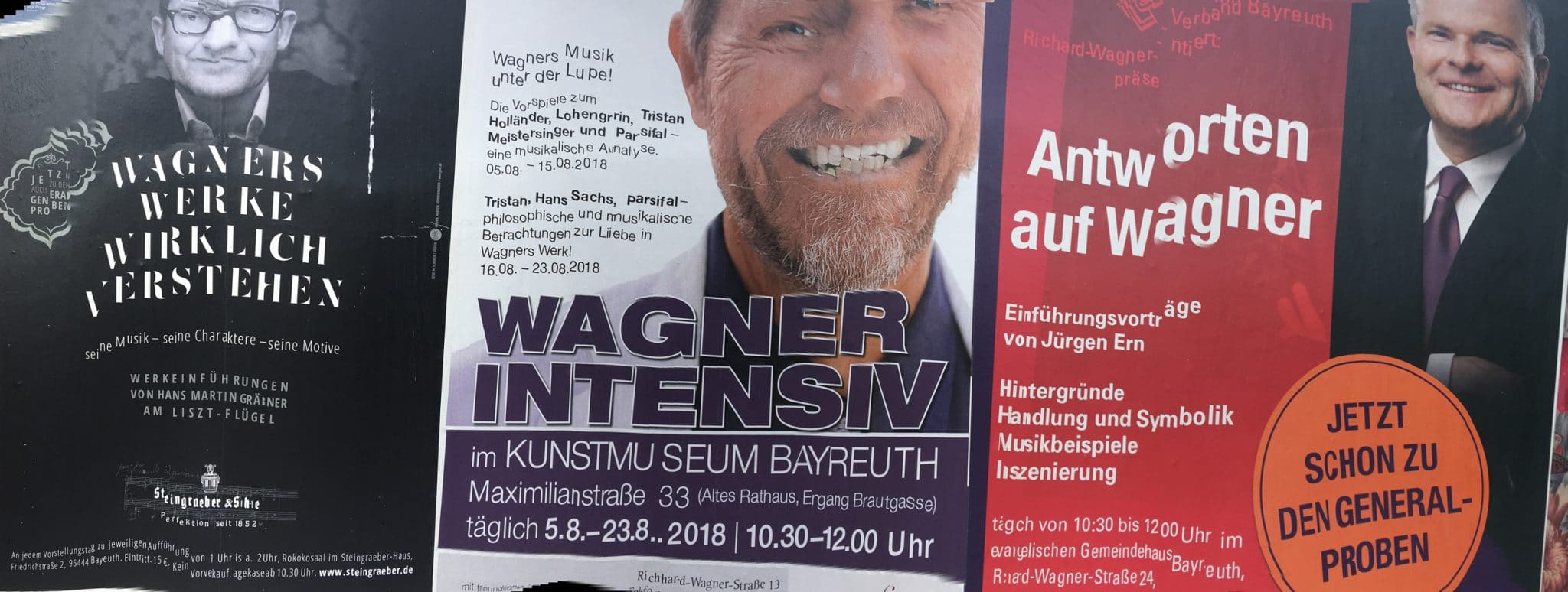 Bayreuth is full of events that explain Wagner.