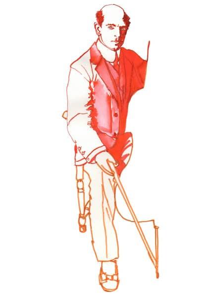 Illustration of Pablo Casals