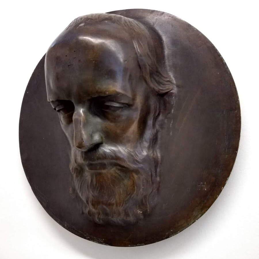 A bust of Hermann Levi by Adolph von Hildebrandt (1901)