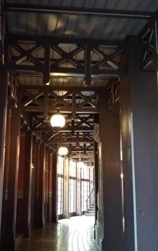 The corridor of the Festspielhaus •PhotoAlison Kinney