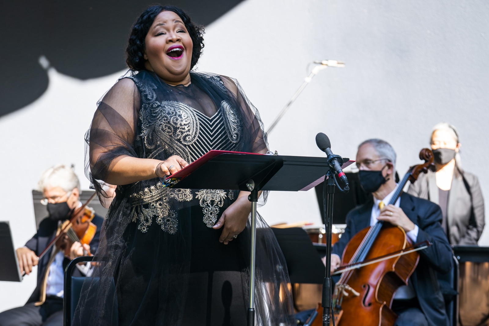 Karen SlackrecordswithOrpheus Chamber Orchestra